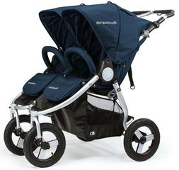 Bumbleride 2018 Indie Twin Stroller, color = Maritime Blue