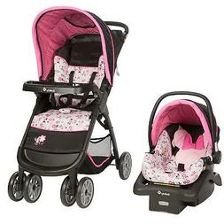 Baby Minnie Mouse Amble Quad Travel System Stroller with Onb