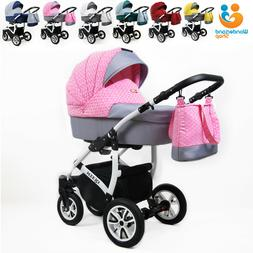 Baby Pram Buggy From Birth Pushchair Car Seat Carrycot Trave