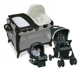 Graco Baby Stroller Travel System with Car Seat Playard Crib