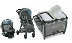 Graco  Baby Stroller Travel System with Car Seat Combo Porta