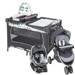 Baby Stroller with Car Seat Travel System Infant Playard Cri