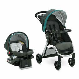 Graco Baby Stroller Travel System with Infant Car Seat Fast