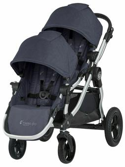 Baby Jogger City Select Twin Tandem Double Stroller with Sec
