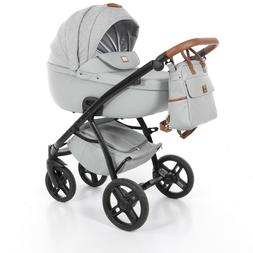 Exclusive Tako Viva Dirty White Baby Pram Stroller Pushchair