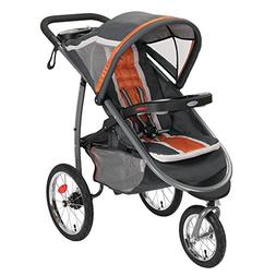 Graco FastAction Fold Click Connect Jogger Stroller Tangerin