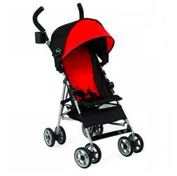 Kolcraft Cloud Umbrella Stroller, Scarlet Red Baby Push Trav