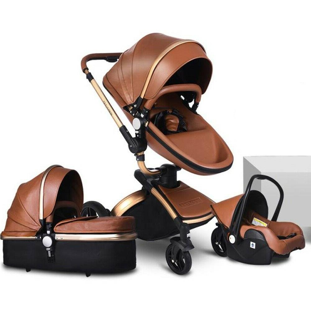 3 in 1 baby stroller with car