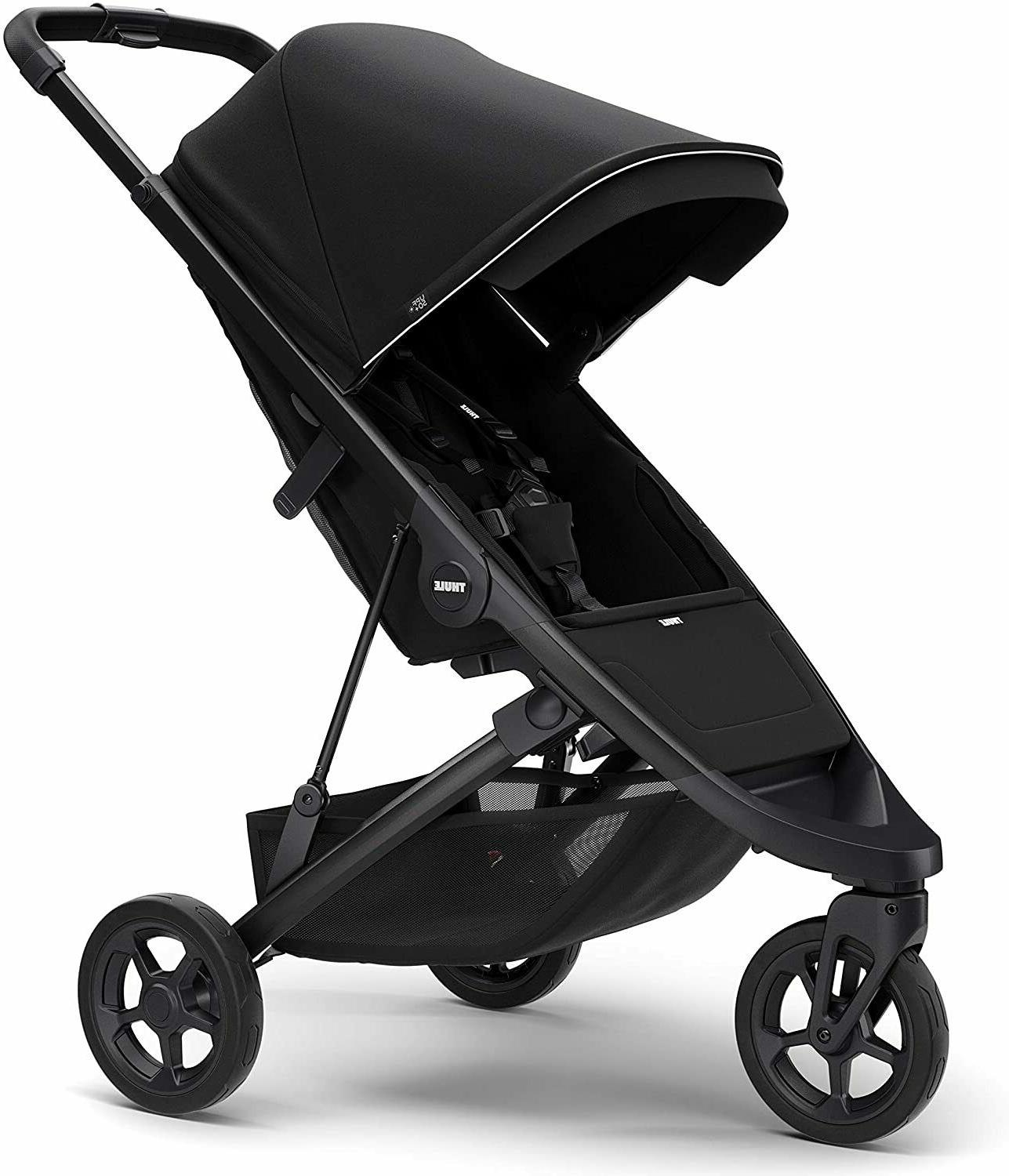 Baby stroller + Canopy Midnight Black, New, frame, jogger