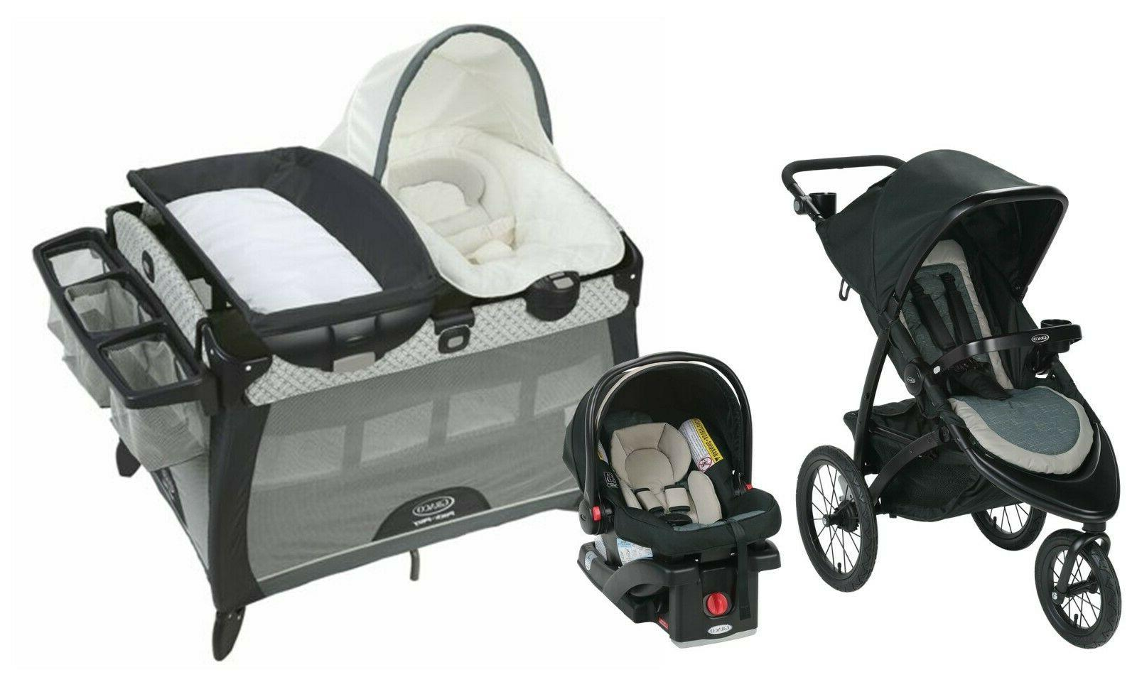 baby stroller travel system jogger with car