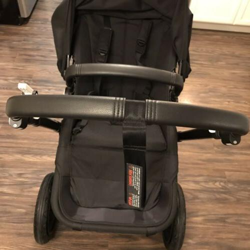 Bugaboo Black Stroller **Limited Edition** Open Box