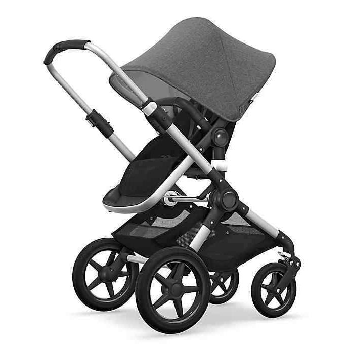 FACTORY NEW Bugaboo Complete in Grey and COLORS TOO