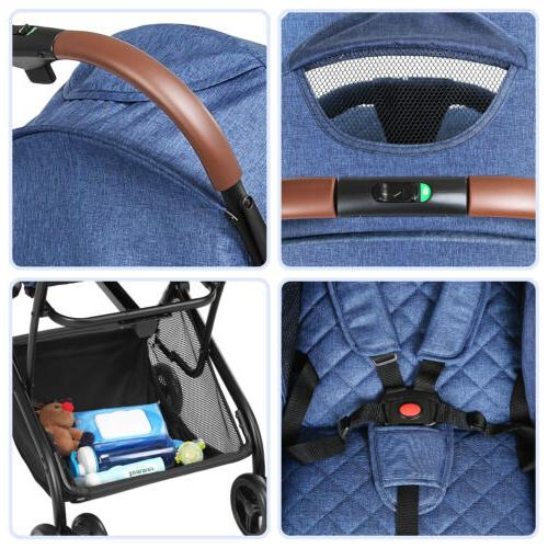 Foldable Baby Travel Buggy