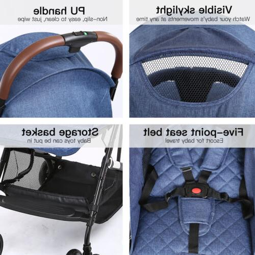 Foldable Baby Kids Travel Newborn Buggy Pushchair Carry