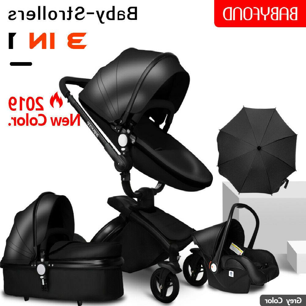 high end baby stroller 3 in 1