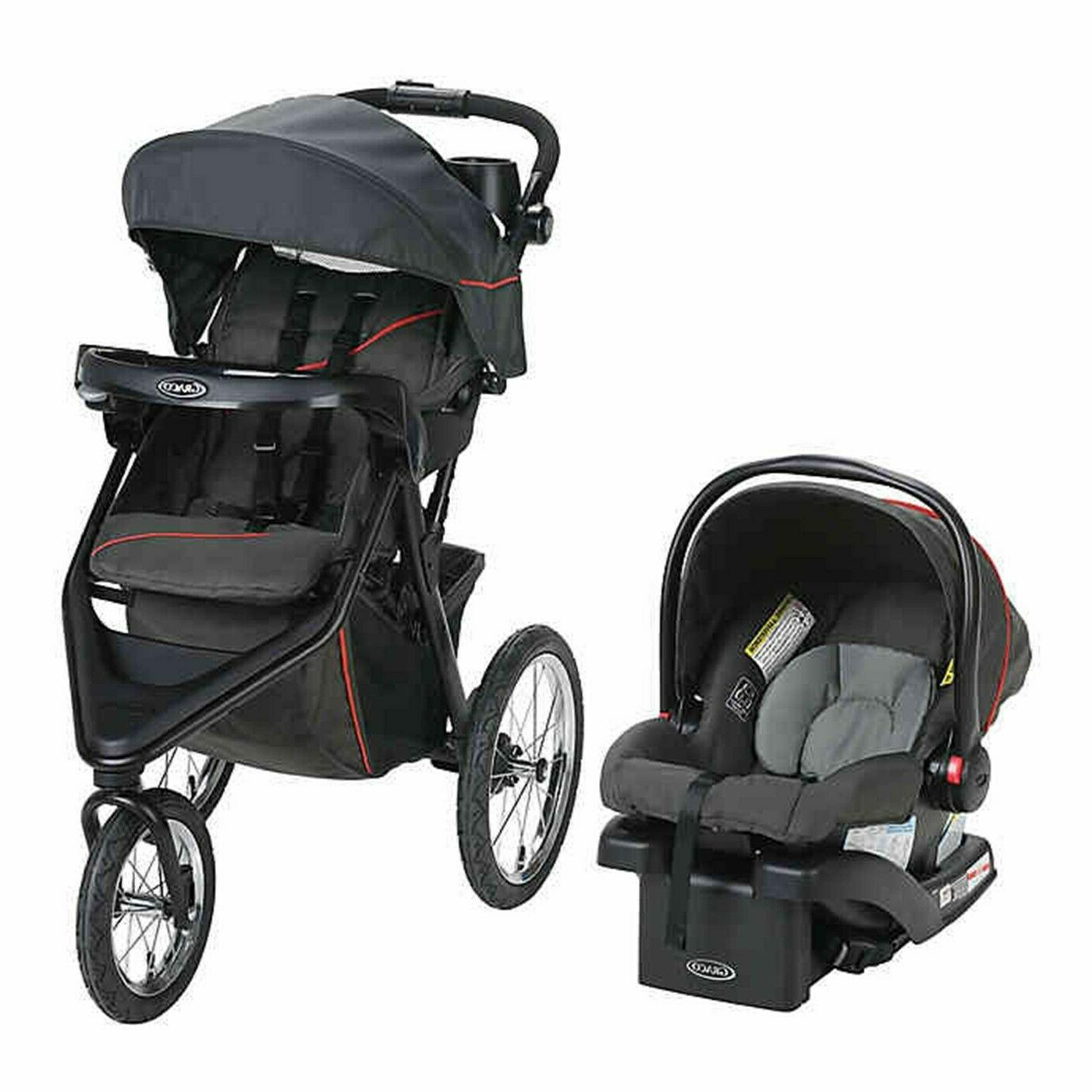 Graco with Car Seat Playard Combo