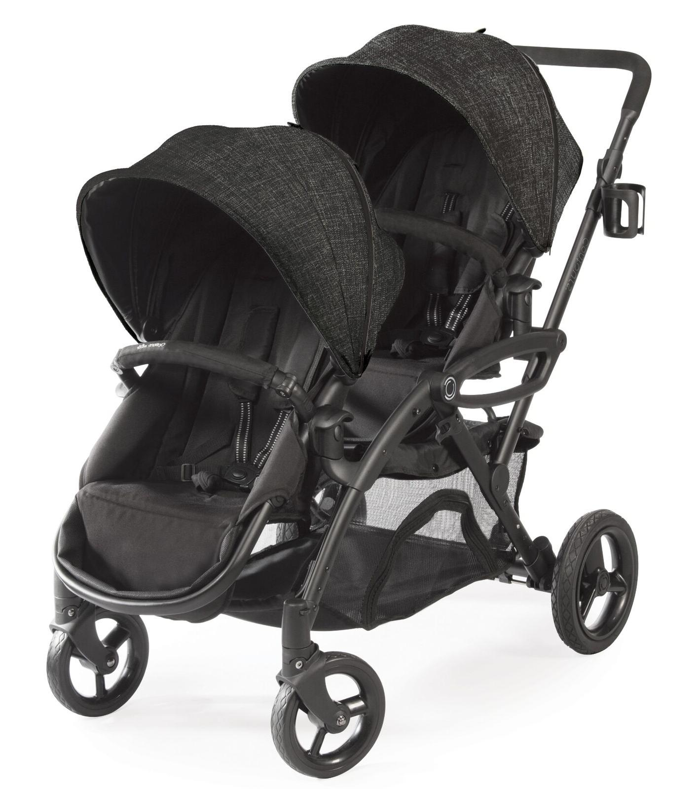 Contours Stroller, Carbon Gray Free Shipping!