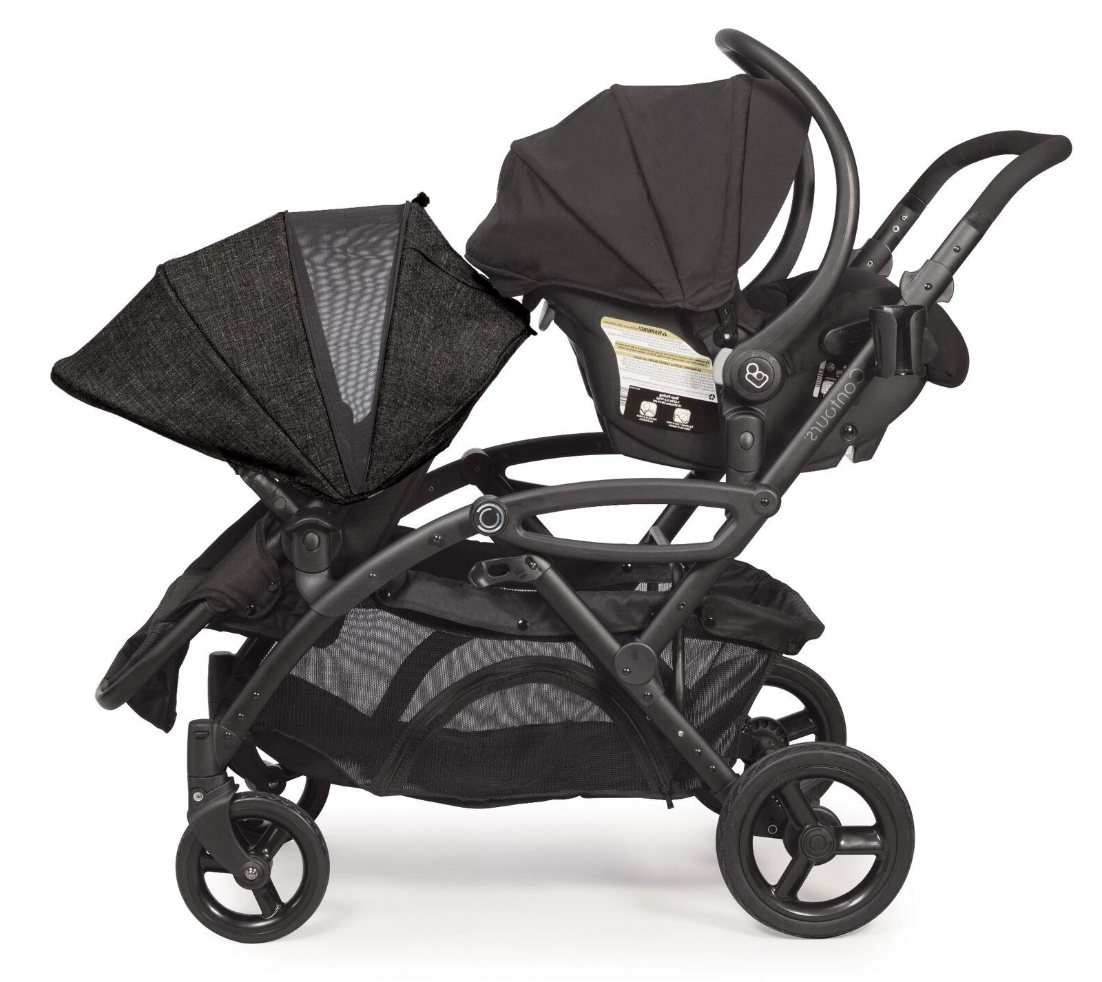 Contours Stroller, Carbon Gray Free