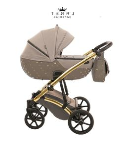 Most Exclusive Tako Laret Imperial Brown + Gold Baby Pram Bu