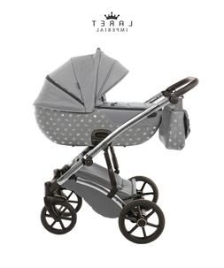 Most Exclusive Tako Laret Imperial Grey + Silver Baby Pram B