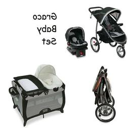 NEW Graco Baby Stroller Jogger Travel System, Car Seat, Play