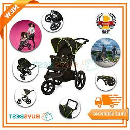 Hauck Runner Jogger Style One Hand Fold 3 Wheeler Pushchair