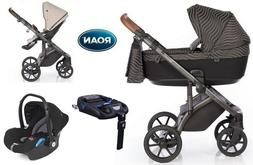 Stroller Roan Bloom pram  pushchair 4in1 car seat Isofix bas