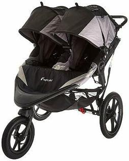 Baby Jogger Summit X3 Double Stroller - Black Grey, NEW!