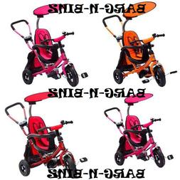 TODDLER Push Behind Tricycle Stroller