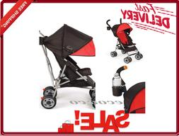 Umbrella Baby Stroller Lightweight Folding Toddler Safety Ha